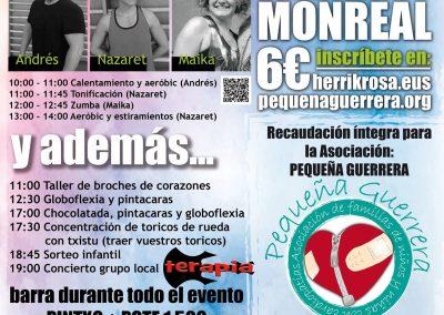 Maratón solidario Monreal 2017