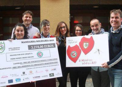 """Oberena """"Mandarra solidaria 2019"""""""